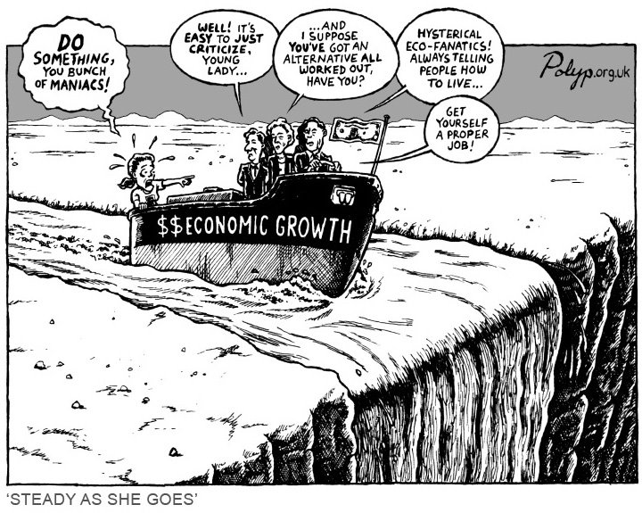 Economic Growth Cartoon